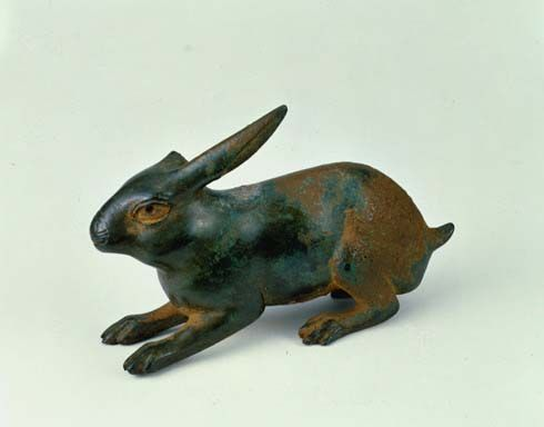 'Crouching hare'  Bronze, Roman empireArtists Side, Haring Art, Romans Empire 0 199, Haring Romans, Animales Simpatico, Visual Art, Animal Sculpture, Romans Haring, Crouch Haring