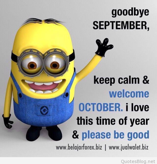 Welcome October Funny Quotes Hello September Quotes October Quotes Welcome October Images