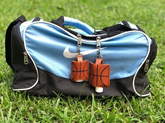 Basketball Accessories Hand Sanitizer Holder Basketball Keychain