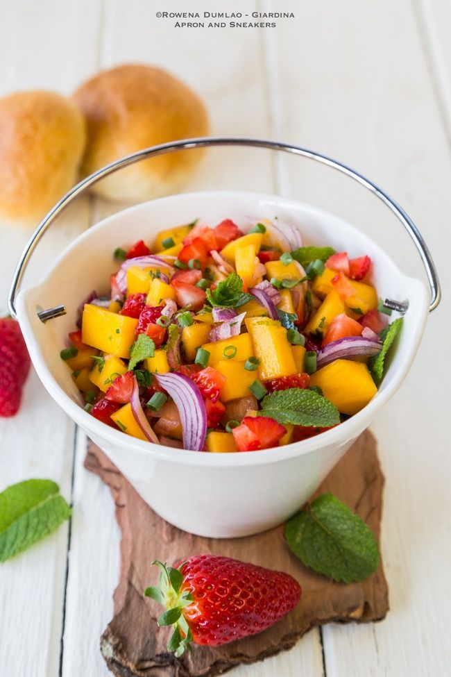 Apron and Sneakers - Cooking & Traveling in Italy and Beyond: Fruit Salsa