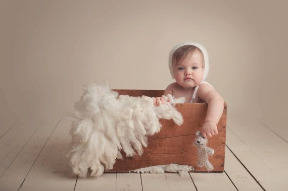 Flokati Rug Fur Felt Fluffy Fleece Wool Hand Felted  Cream by FeltFur