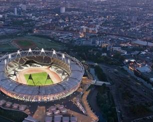 Olympic Stadium Stadium - looks like the Quidditch World Cup Stadium.