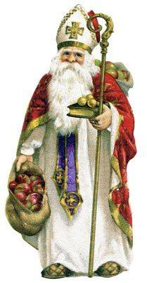 St Nicholas, father Christmas.