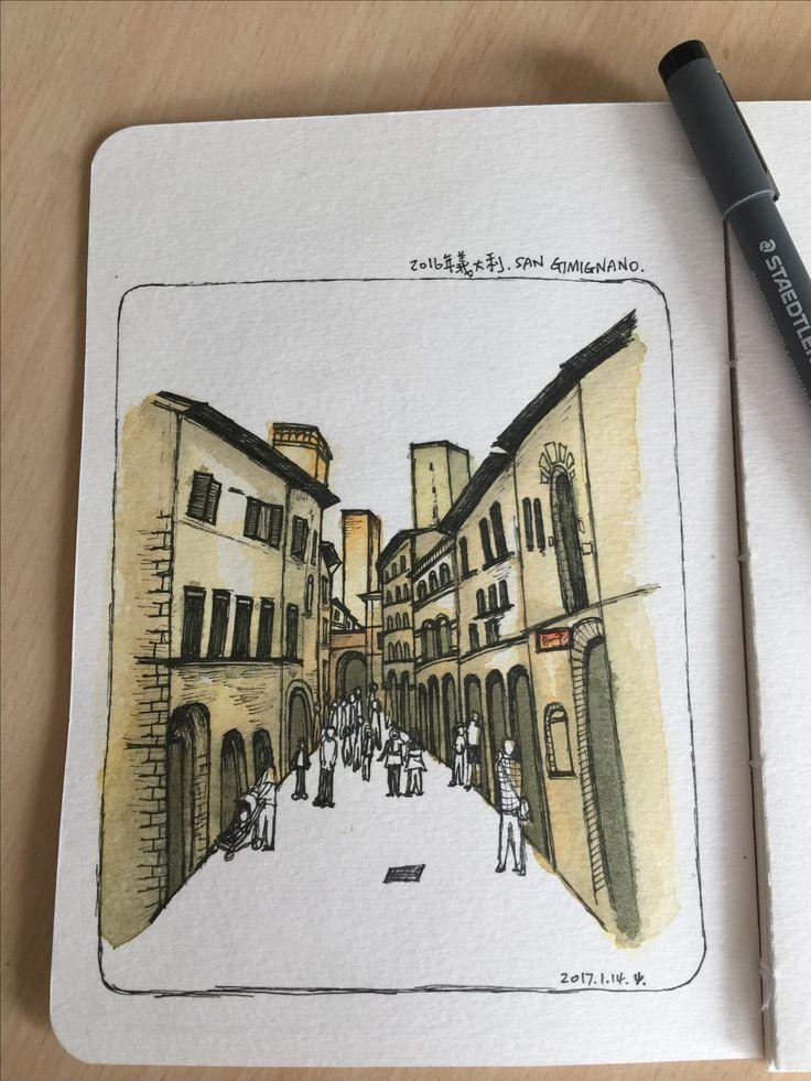 No.10 San Gimignano Italy