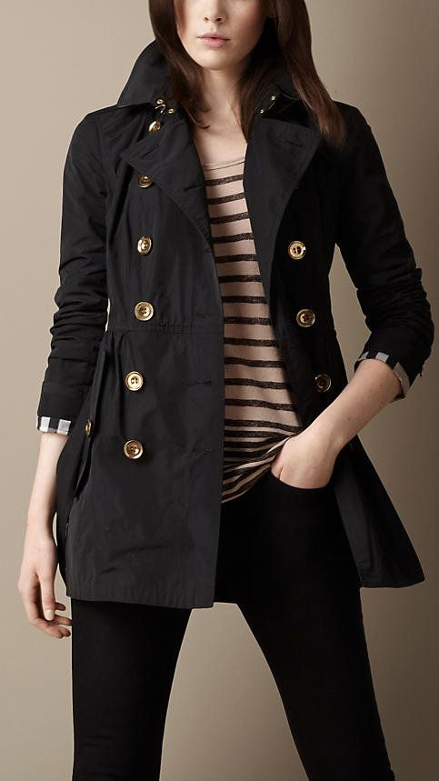 Shop the latest womenswear from Burberry including seasonal trench coats,  leather jackets, dresses, denim and skirts.