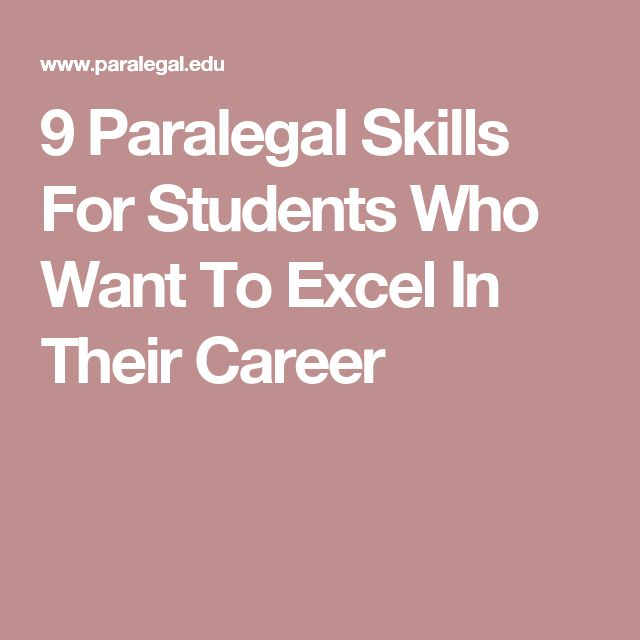 the paralegal career What's it like to be a paralegal we interviewed linda mcgrath-cruz, a paralegal  from one of miami's oldest law firms to find out.