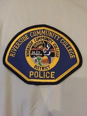 Riverside-Community-College-Police-Patch-California