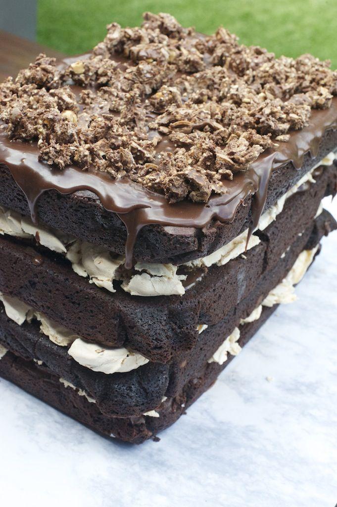 CHOCOLATE 'LASAGNE' – Double Chocolate Chunk Fudge Brownie ...