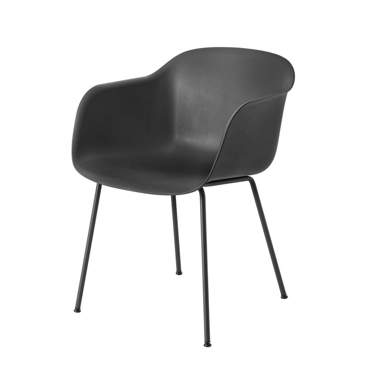 Muuto - Fiber Chair - Tube Base
