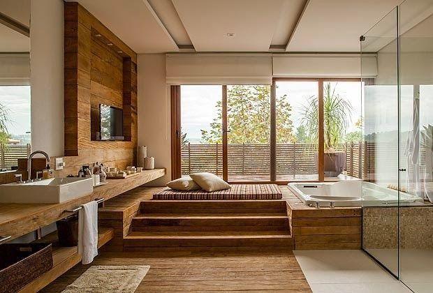 spa para banheiro amplo