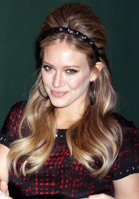 Hilary-Duff-1960s-Retro-Hairstyle-for-Long-Hair