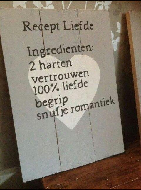 Recept Liefde