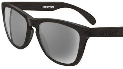 The Oakley Eric Koston Frogskins güneş gözlükleri Eric Koston'u da ünlüler arasına aldı.