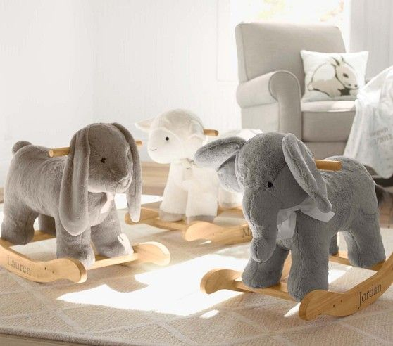 Bunny Plush Rocker | Pottery Barn Kids | Awwwwww!