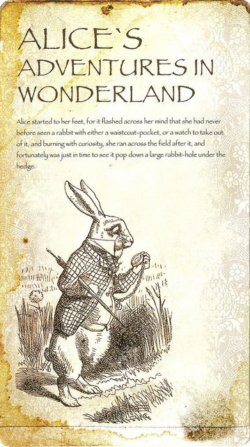 'Alice's Adventures in Wonderland' (Lewis Carroll) by John Tenniel