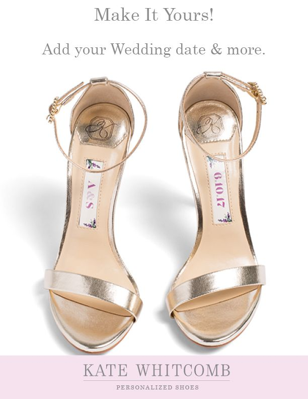 46123449552 Pretty gold wedding shoes for all brides •Wedding Shoes •Gold shoes for  bride •Bridal sandals •Gold Bridal Shoes
