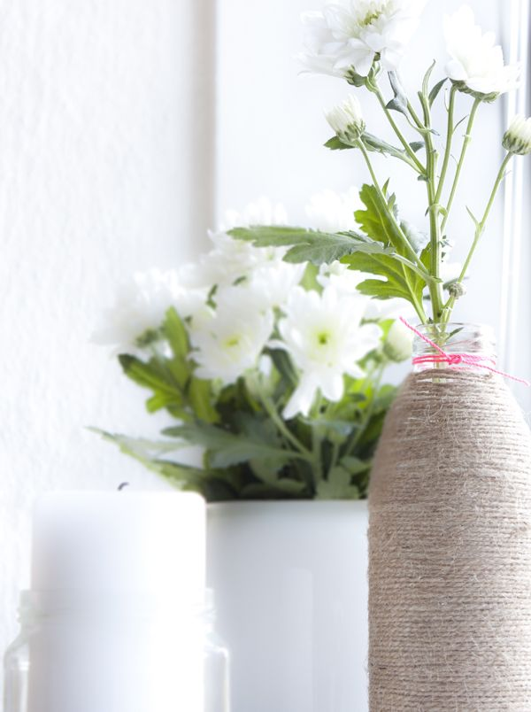 life as a moodboard: Twine wrapped jar