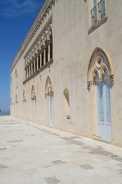 Donnafugata Castle, Ragusa - The facade