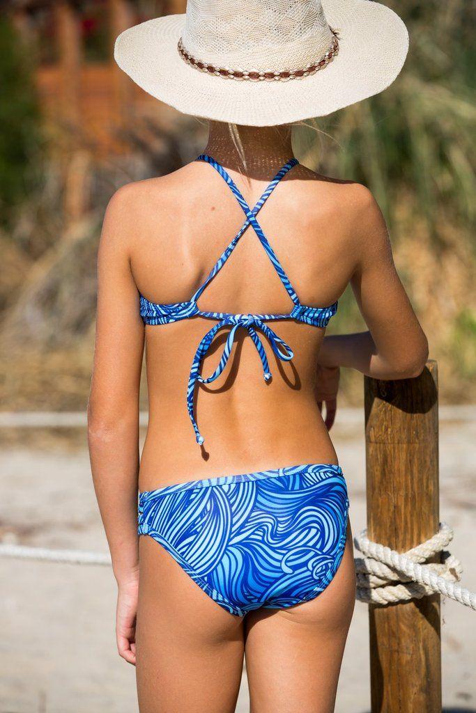 How cute is this bikini for tweens?! #juniorsbikini