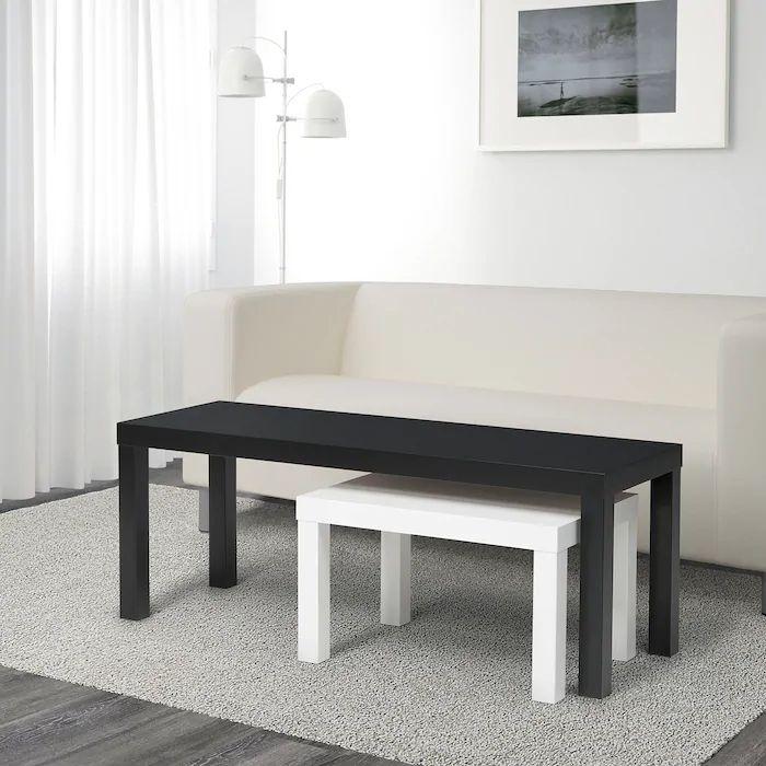 Lack Nesting Tables Set Of 2 Black White Ikea Sie Sind An Der Richtigen Stelle Fur Badezimmer Accessoir In 2020 Badezimmer Accessoires Ikea Ikea Beistelltisch