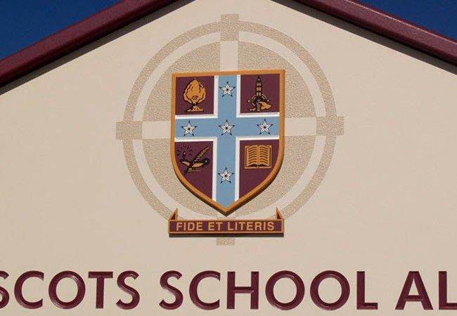 Scots School Crest / Danthonia Designs