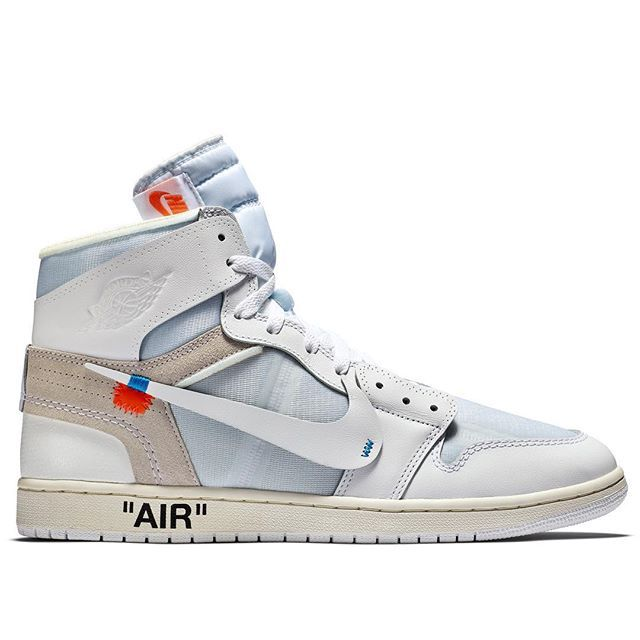 Nike The Ten: Air Jordan 1 x OFF WHITE launches online