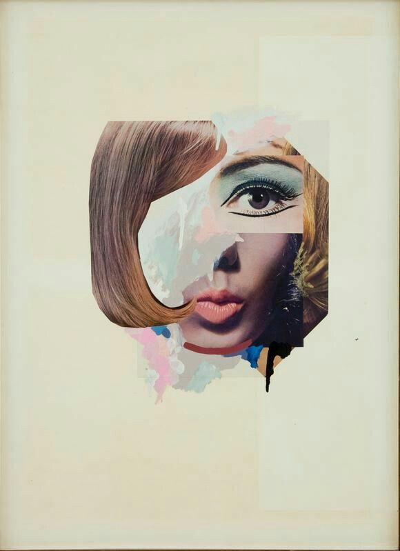 Titel: Study for a Fashion Plate  Artiest: Richard Hamilton Jaar: 1969