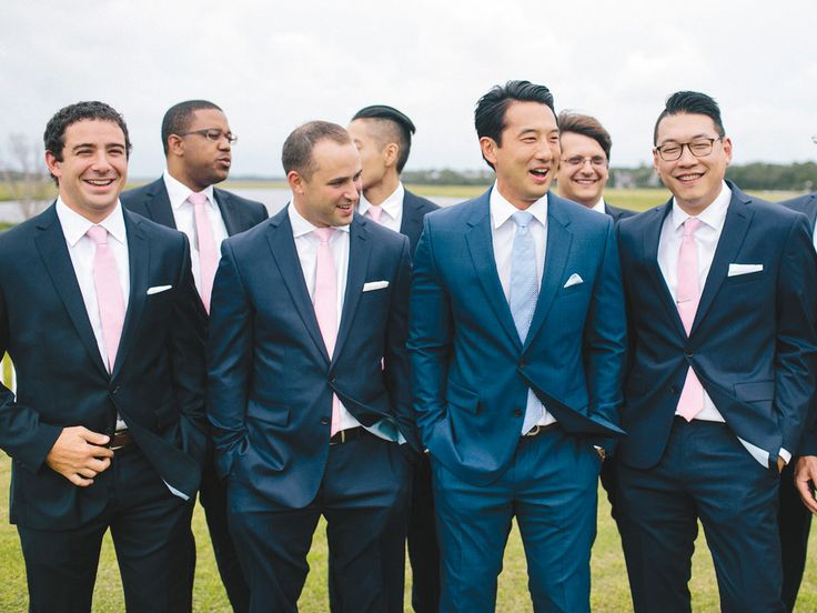 A Complete Guide to Online Tuxedo Rentals | Photo by: Millie Holloman | TheKnot.com