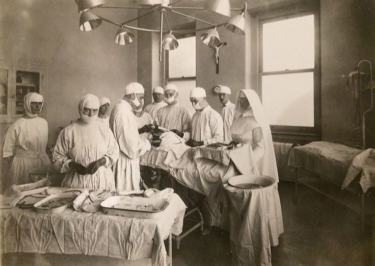 Misericordia Hospital Operating Suite in 1918.  #ThrowbackThursday #tbt #100YearsOfMercy #Centennial