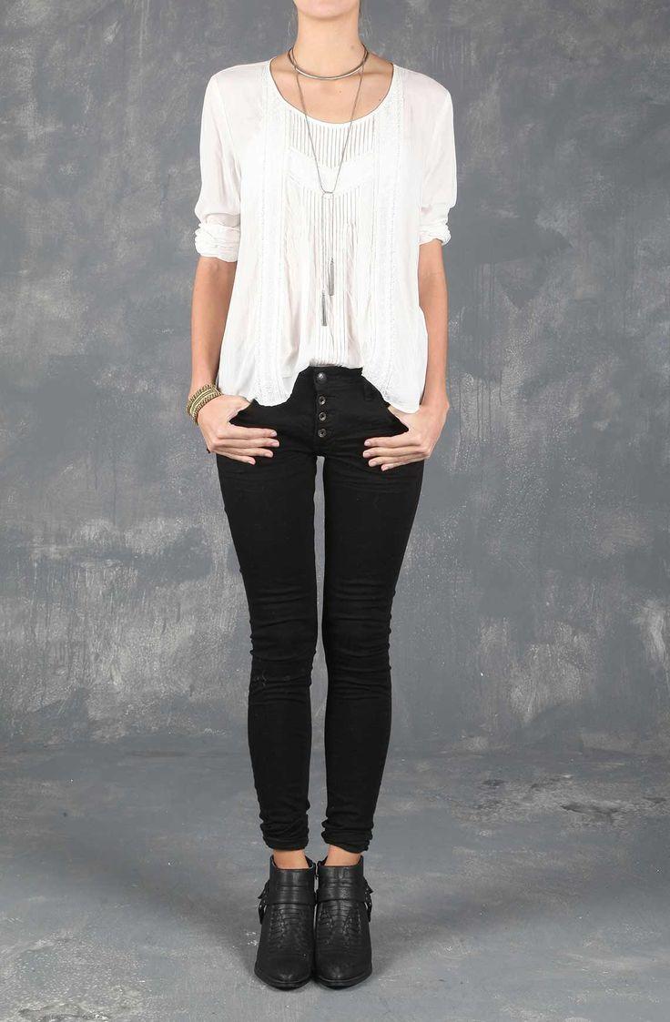 Camisa femenina manga larga blanca. Compra en Tennis.com.co - tennis