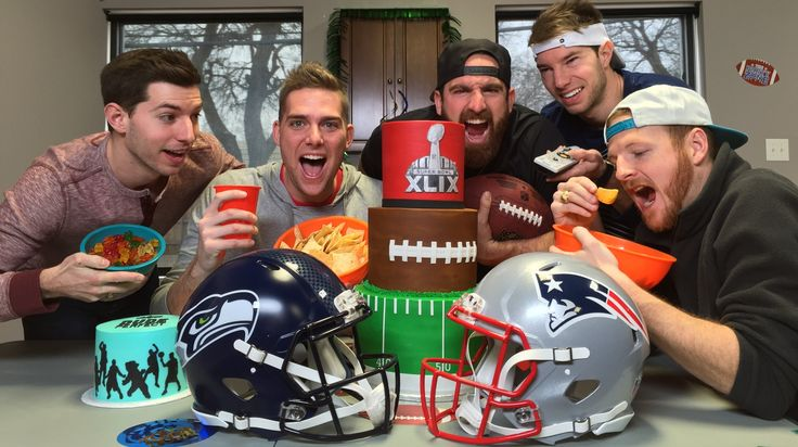 In a recent episode of their series Stereotypes, comedy group Dude Perfect demonstrates different types of people one is likely to encounter at a Super Bowl party like superstitious fans, people mo...