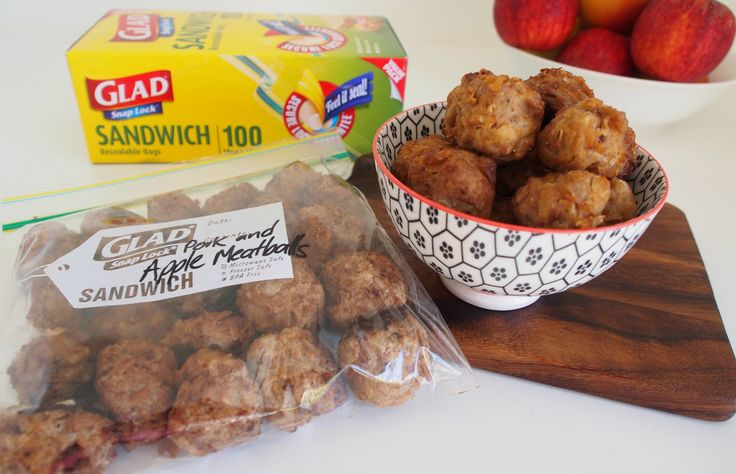 Pork and Apple Meatballs | Stay at Home Mum #Glad #LeftOverLove