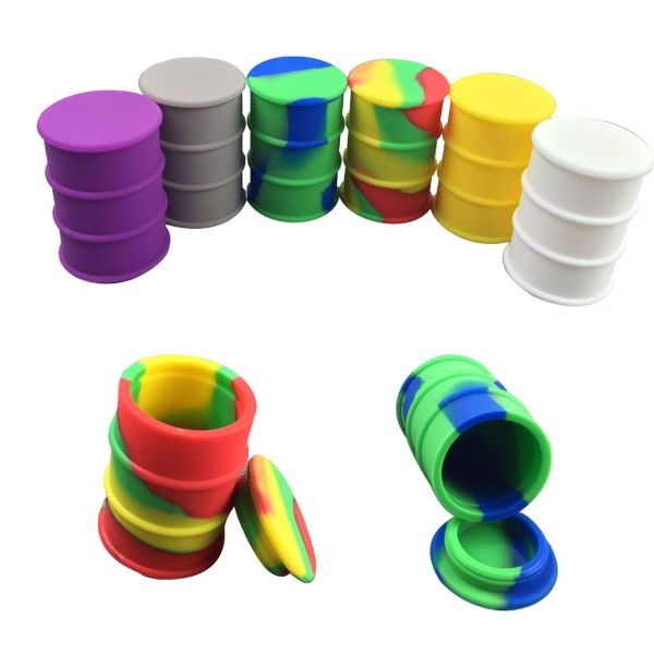 Oil With These Silicone Drum Barrel 2 3x Times More Storage Space Than Conventional Dab Containers Multiple Color Combos Available At Request