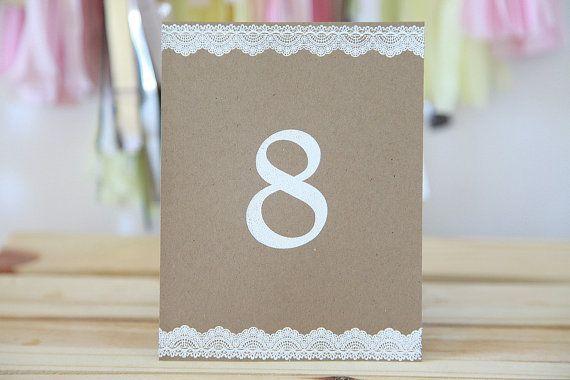 Numéros de table dans Déco - Etsy Mariages - Page 2