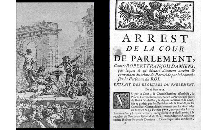 L'exécution de Damiens (1757) : le symbole des supplices de l'Ancien régime