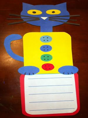 Pete the Cat and His Four Groovy Buttons Craftivity, Literacy Centers, and Math Centers Giveaway to 4 Groovy Followers until Wednesday, April 25th at 4:00 pm EST