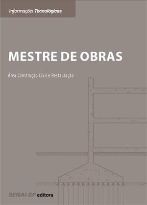 Livro Mestre De Obras – Senai – Sp – ISBN: 8565418405 | FunFlyShip