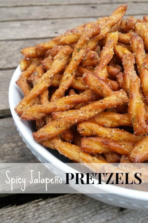 Looking for a snack with a little kick? You'll love these spicy pretzels! They start out a little salty with a ranch undertone, but they finish spicy | Makeovers and Motherhood.