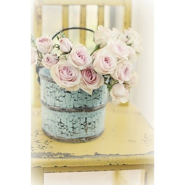 shabby chic decorating ideas ❤ liked on Polyvore