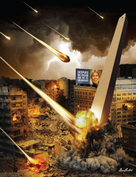 End of Days:  #Armageddon.