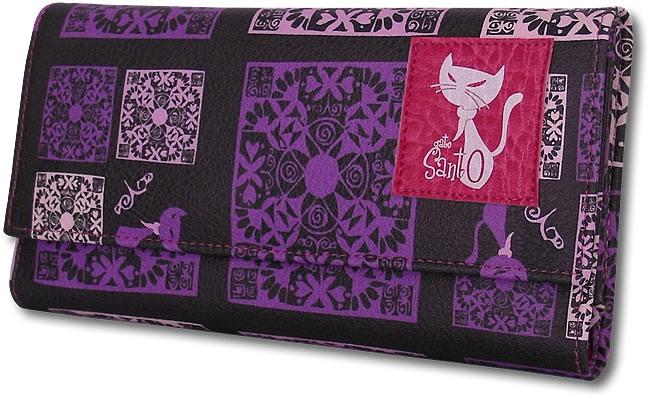 Billetera LOLA - Batik morado