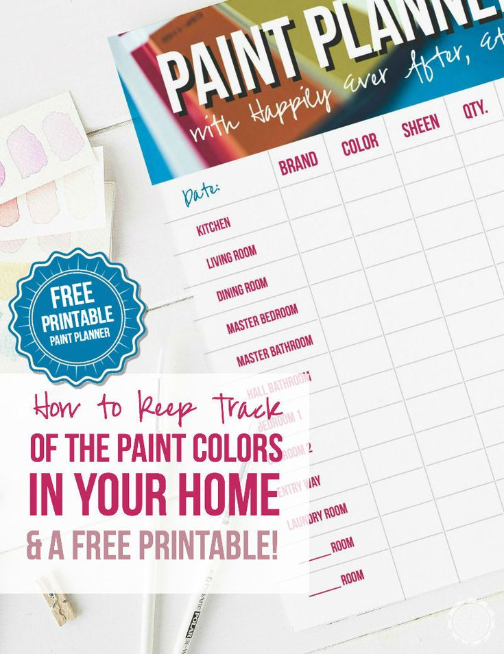 90 best images about home diy techniques on pinterest for Paint planner