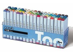 Copic Marker set 72C (162), 72 colors