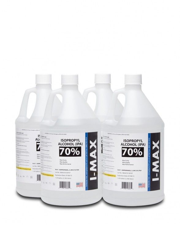 Best in class IPA. IMAX is synonymous with Maximum Quality and Maximum Value. • High purity with no particles, metals, or trace organic content. Cerificate of analysis (COA) available. • Product, bottle, and packaging 100% MADE IN USA- No risky import products. • Same Day Shipping (on orders received before 12:00 Noon PST). • 100% Satisfaction Money Back Gaurantee . • We are basic in IPA and can support your small bottle needs all the way up to railcar quantities. We have eliminated the…