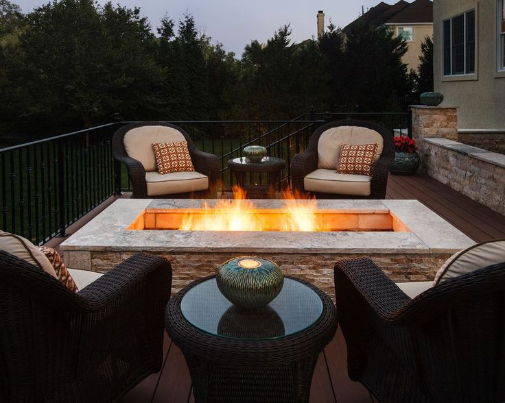 Inviting backyard fire pit - Backyard Fire Pits