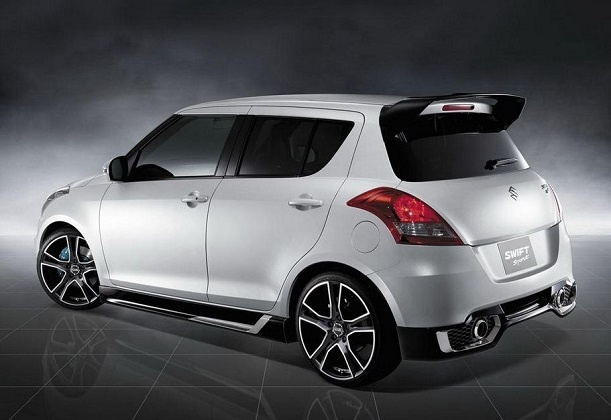 Suzuki Swift Sport - Back Side