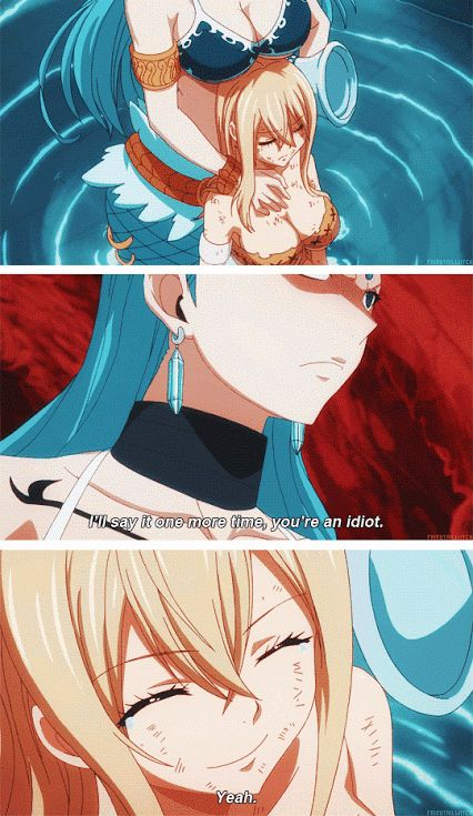 Fairy Tail – aquarius and lucy