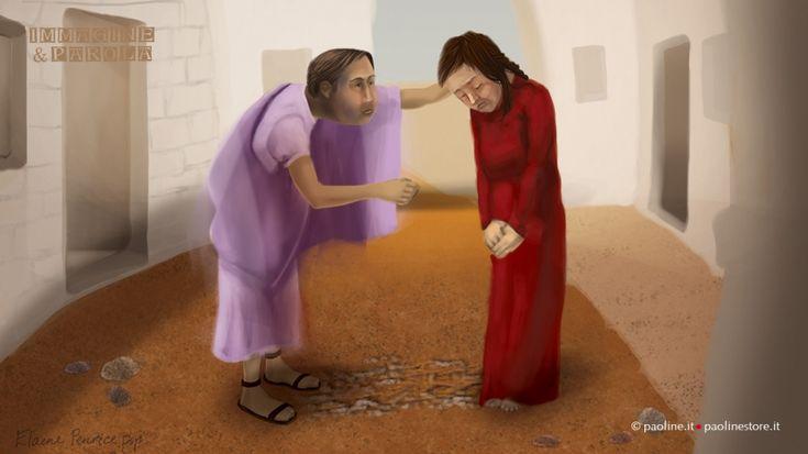 Nel vangelo di questa domenica, Giovanni ci invita a contemplare Gesù, volto misericordioso del Padre, che perdona la donna adultera e interpella i ma...