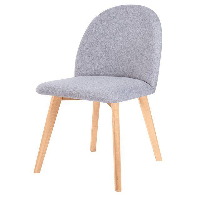 Chaise Linosa RENDEZ VOUS DECO : prix, avis & notation, livraison.  Dotée d'un visuel simple et efficace, la chaise Linosa mettra votre intérieur bien en valeur ! Cette chaise design de L 47 x l 55 x H 77 cm séduira les amateurs de déco chaleureuse style nordique. Elle vous accueille sur une assise en tissu, montée sur des pieds en de bouleau contreplaqué. L'ensemble dégage un esprit de simplicité, de ...