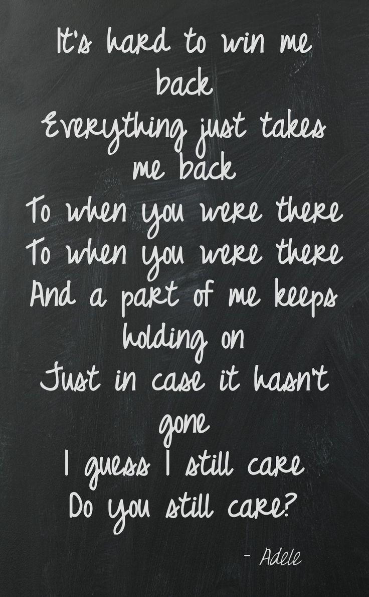 ADELE LYRICS - Adele Song Lyrics